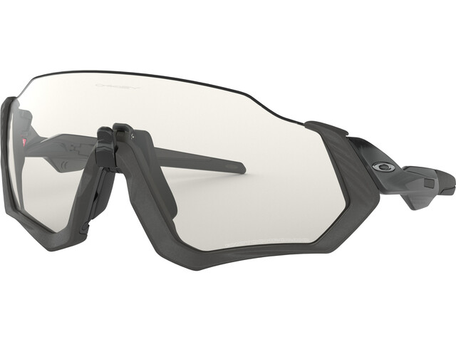 Oakley Flight Jacket Okulary przeciwsłoneczne, czarny